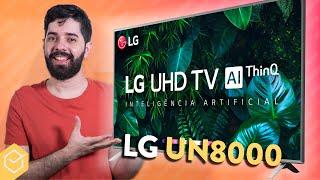 TV LG 4K UN8000 vale a pena? // Análise & Review Completo!!