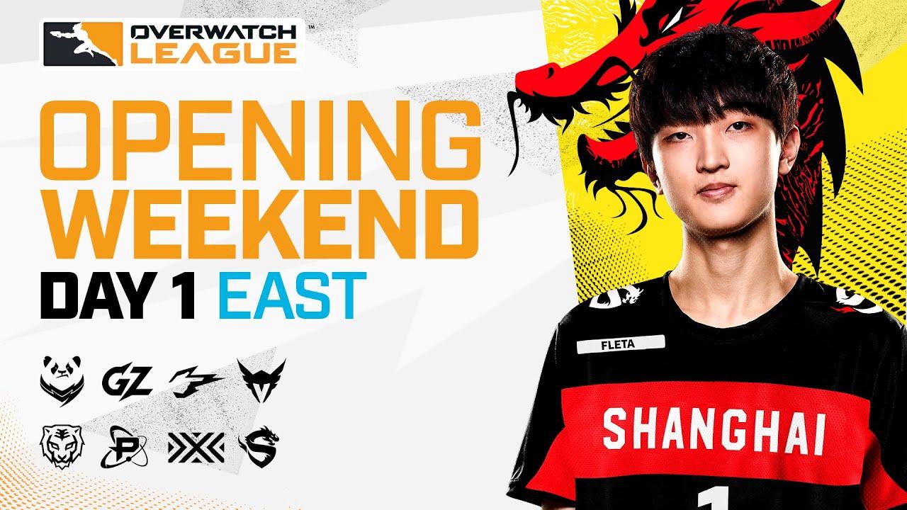 Overwatch League 2021 Season | Opening Weekend | Day 1 — East