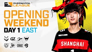 Overwatch League 2021 Season | Opening Weekend | Day 1 — East