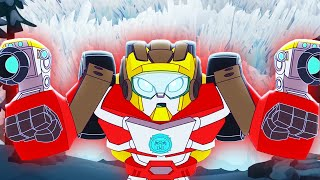 Transformers Official | Hot Shot's Top Rescues!!! | Rescue Bots Academy