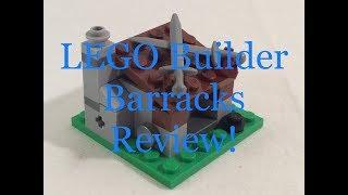 LEGO Clash of Clans - Bridge Video #1 - Builder Barracks