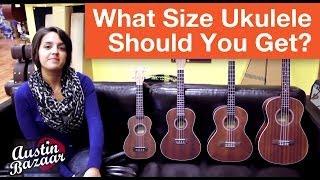 Different Ukulele Sizes | How to Buy a Ukulele Part 1