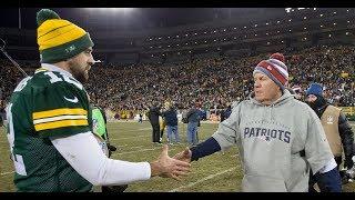 Packers QB Aaron Rodgers on Bill Belichick, 'GOAT' talk