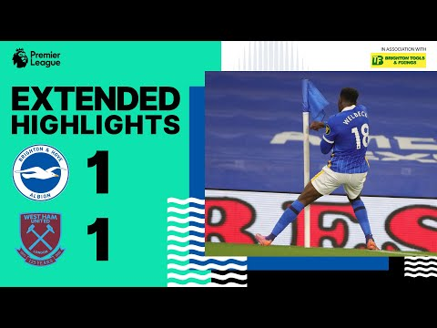 Extended Highlights: Albion 1 West Ham United 1