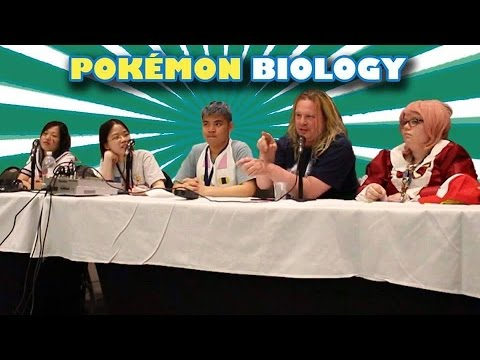 Pokémon Biology panel | Anime North 2015