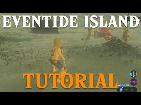 [BOTW] Eventide Island Shrine Tutorial | Legend of Zelda: Breath of the Wild
