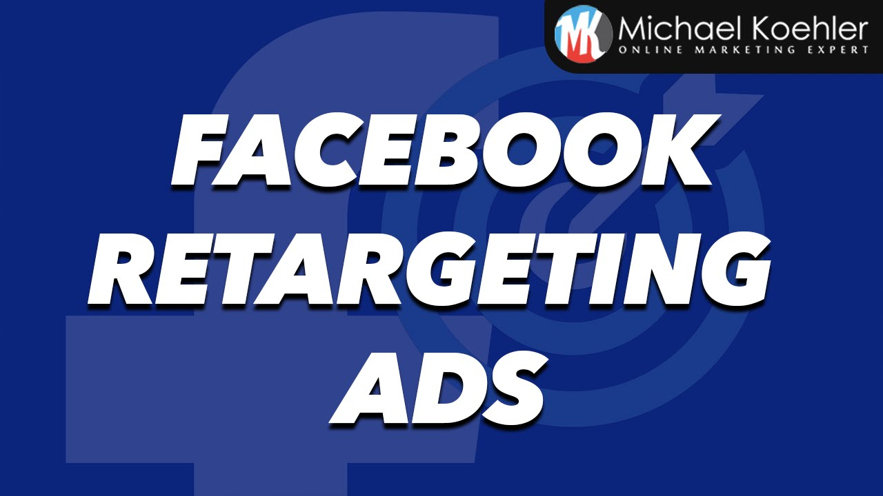 Facebook Retargeting Tutorial - How To Install Facebook Retargeting Pixel