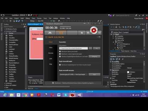 Visual Studio 2015 Dersleri - 1. Bölüm - Basit Kodlar