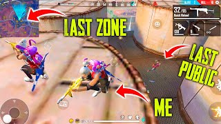 Solo vs Duo Unbelievable Gameplay Mp40 + Cupid Scar | Free Fire Most Funny Gameplay - P.K. GAMERS