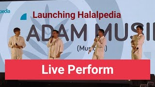 Download lagu AISYAH ISTRI RASULULLAH || ADAM LIVE PERFOM ||LAUNCHING HALALPEDIA