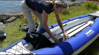 AirKayaks.com: у парки Чинук 2 надувні байдарки для 1-2 гребців