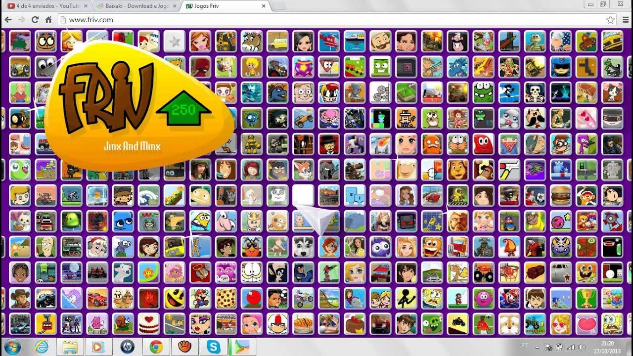 Sites Zuados - www.friv.com - YouTube