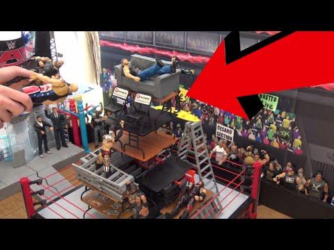 WWE Action Figure Table Demolition