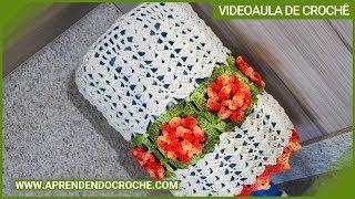 Capa de Crochê para Galão Barroco – 20 LT – Aprendendo Crochê