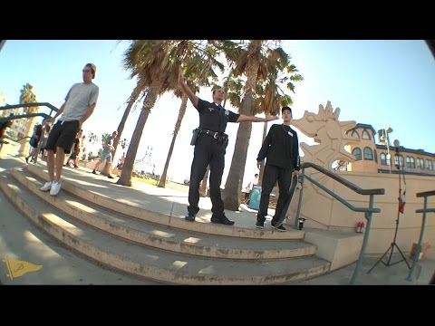 Diego Najera Behind The Scenes: Nollie Tre Santa Monica Triple Set