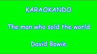 Karaoke Internazionale - The man who sold the world - David Bowie - Nirvana ( Lyrics )