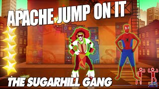 Video 🌟 Apache (Jump On It) - The Sugarhill Gang [Just Dance 3] - Spiderman Dance 🌟 download MP3, 3GP, MP4, WEBM, AVI, FLV Mei 2018