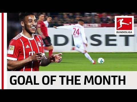 Corentin Tolisso - March 2018's Goal of the Month Winner