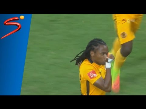 Siphiwe Tshabalala Goal vs SuperSport United (300th appearance for Chiefs)