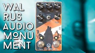 The best Harmonic Swooshy Wooshies...Walrus Audio Monument V2