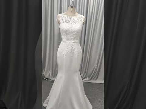 Made in China bridal gown