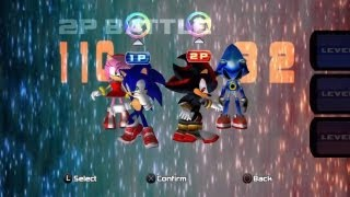 Sonic Adventure 2 (PS3) - VS Mode - A New Challenger!