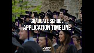 Graduate School Application Timeline