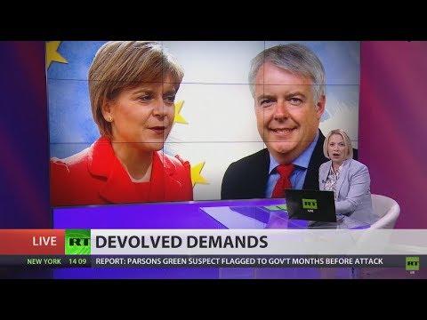 Scotland & Wales insist Brexit Bill must work with devolution