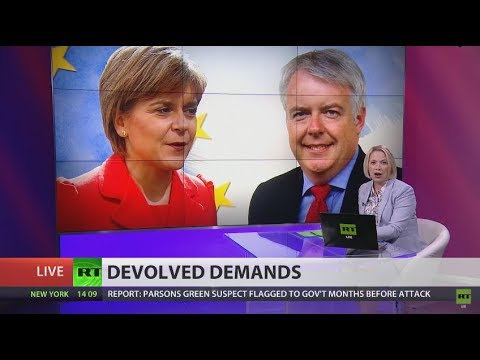 Scotland & Wales insist Brexit Bill must work with devolution