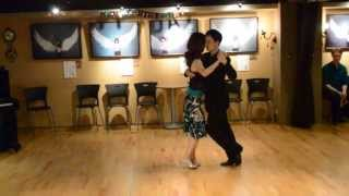 "Daniel and Agnes dance ""Canta, pajarito"""