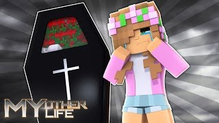 LITTLE KELLY GOES TO A FUNERAL..BUT WHOS? Minecraft My Other Life (Custom Roleplay)