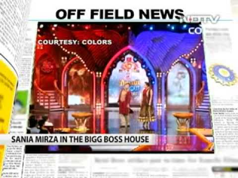 Sania Mirza's dance with salman khan at Bigg Boss house