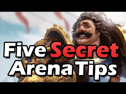 Five Secret Arena Tips [OC]