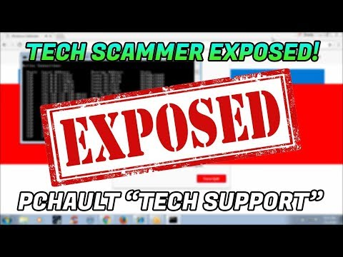 Tech Support Scam / Tech scammer exposed! - 1-888-640-1912 - pchault.com