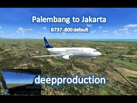 FSX :: Palembang to Jakarta