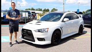 Why is this 2015 Mitsubishi EVO X Final Edition ready for more MODS? - Raiti's Rides