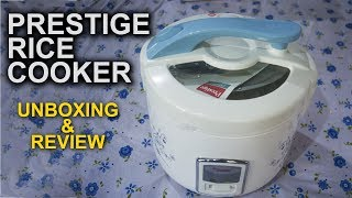 Prestige Rice Cooker Unboxing And Review - Prestige Delight PROCG 1 8L Electric