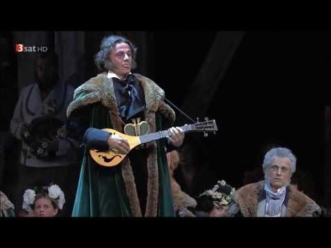 Meistersinger - Baritone Markus Werba as Sixtus Beckmesser sings contest song
