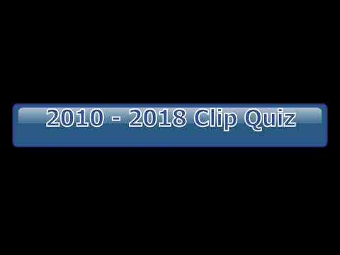 2010   2018 Clip Quz