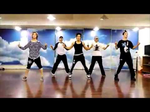 SHINee  Lucifer dance practice mirrored