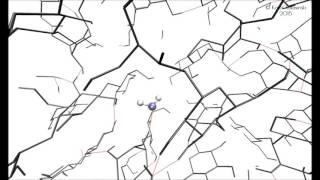 Water molecule dancing in the potential well