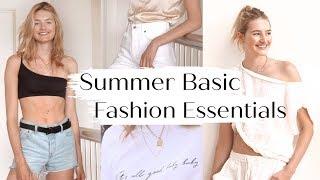 Model Must Have Fashion Basics   Closet Tour, Affordable Essentials, &