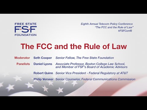The FCC and Rule of Law