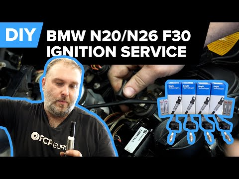 BMW 3 Series – F30 Spark Plug & Ignition Coil Replacement DIY (BMW N20/N26 Ignition Service)