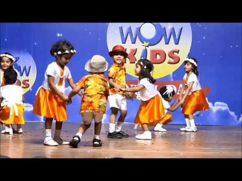 Ya ya Maya ya song dance Performance by Nursery (WOWKIDS FATORDA ANNUAL DAY 2018)