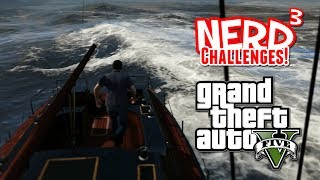 Nerd³ Challenges! Shark Hunt! - GTA V