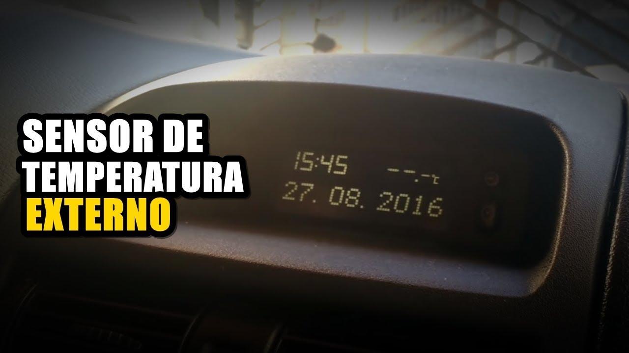 Sensor de Temperatura Externo, Astra, Corsa, Zafira ...