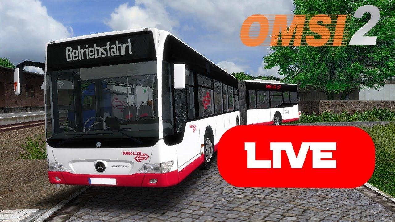 Download Livestream - Aufzeichnung vom 23.06.2021 mit Omsi 2 im BBS für die MKLG