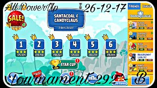 Angry Birds Friends Tournament 292 B All Levels Golden Slingshot And Powerups!