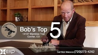 Bob's Top 5 Reasons To Love 14137 Wamblee Trail in Conifer